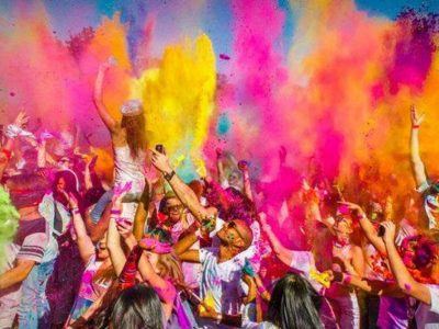 """Stus Square turned into a rainbow! """"Festival of Paints"""" took place in Vinnytsia"""